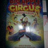 Photo taken at Big Apple Circus by Pam R. on 11/22/2012