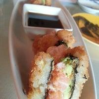 Photo taken at Moshi Sushi Bar by Tabitha T. on 6/13/2013