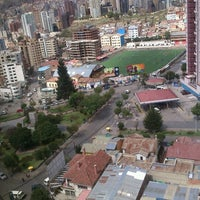 Photo taken at Helados de Canela plaza triangular by Jose Maria C. on 1/9/2013