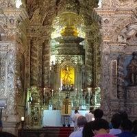 Photo taken at Igreja Nossa Senhora da Conceição dos Militares by Pacheco on 1/1/2014
