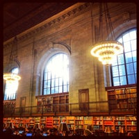Photo taken at Rose Main Reading Room - New York Public Library by Naveen on 2/1/2013