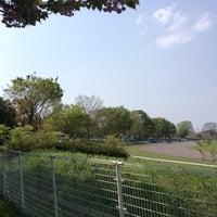 Photo taken at 白岡市総合運動公園 by JL1 R. on 4/19/2014