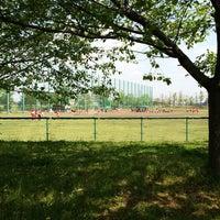 Photo taken at 白岡市総合運動公園 by JL1 R. on 4/26/2014