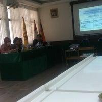 Photo taken at Fakultas Teknik Geologi by Ishak on 11/8/2012