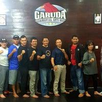 Photo taken at Garuda Martial Arts by Eky A. on 4/29/2016