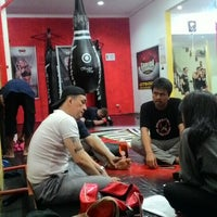 Photo taken at Garuda Martial Arts by Eky A. on 4/28/2016