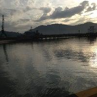 Photo taken at Royal Malaysian Navy, Sepanggar by Rafie on 2/5/2013