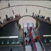 Photo taken at Ambience Mall by Arnab C. on 5/18/2013