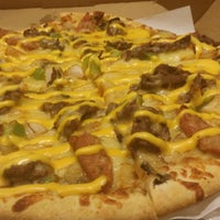 Photo taken at Yellow Cab Pizza Co. by JeNa on 6/28/2014