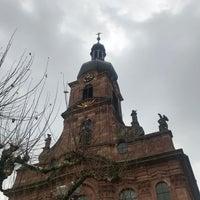 Photo taken at Pfarrkirche St. Alexander by Alexey on 11/25/2017