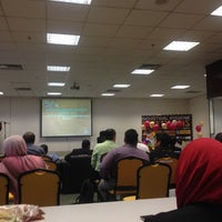 Photo taken at Bilik Seminar Fakulti Sains Kesihatan by Muhammad Syukri on 6/10/2015