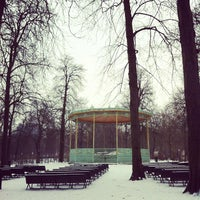 Photo taken at Warandepark / Parc de Bruxelles by Aliceful on 1/18/2013