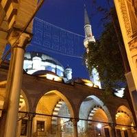 Photo taken at Eyüp Sultan Mosque by Süreyya M. on 7/12/2013