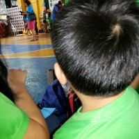 Photo taken at Barangay Teachers Village East Session Hall by Bj D. on 8/11/2013