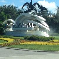 Photo taken at SeaWorld Orlando Parking Lot by SRQ LUXURY SEDAN T. on 9/21/2013