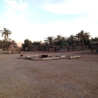Photo taken at Kfar Hanokdim by Barry S. on 1/1/2014