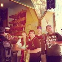 Photo taken at Lahuhe Original Yemanite Food Bar by Barry S. on 6/14/2013