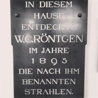 Das Foto wurde bei Röntgen-Gedächtnisstätte von Vugar G. am 6/15/2013 aufgenommen