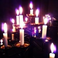 Photo taken at Pfarrkirche St. Alexander by Vugar G. on 7/20/2013