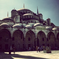 Photo taken at Blue Mosque by Vugar G. on 7/29/2013