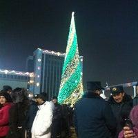 Photo taken at Площадь Независимости | Mustaqillik Maydoni by Deleted on 1/1/2013