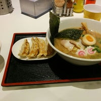 Photo taken at Menya Noodle Bar Chinatown by Vic on 11/30/2014