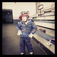 Photo taken at John Armstrong Memorial Ice Rink by Catie M. on 11/18/2012
