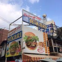 Photo taken at ハンバーガーショップ ヒカリ 本店 by ウニオ on 1/18/2014