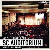 Photo taken at SC Auditorium by Jenny K. on 2/8/2013