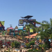 Photo taken at Aquatica San Diego, SeaWorld's Water Park by Mike on 8/13/2016