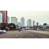 Photo taken at Jalan MT Haryono by Alvino Pandu M. on 8/5/2013