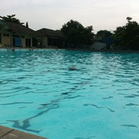 Photo taken at kolam renang Tirta Bhirawa Kopassus by Nafis Z. on 4/4/2013