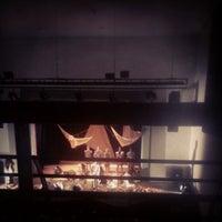 Photo taken at Lounge Binario 7 by Paola on 5/23/2014