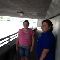 Photo taken at Under The Bridge by Jonathan on 7/26/2014