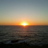Photo taken at Punta de Lobos by Alejandra T. on 10/27/2012