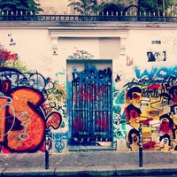 Photo taken at Rue de Verneuil by Remi V. on 5/26/2014