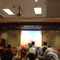 Photo taken at Hardesty Regional Library by Gülşah on 10/29/2012