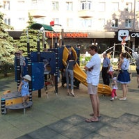 Photo taken at Детская площадка на Покровке by Dmitry L. on 6/7/2014