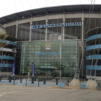Photo taken at Etihad Stadium by Allan on 11/14/2012