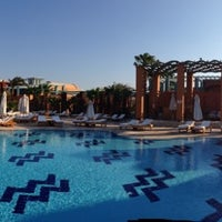 Photo taken at Pool at Sheraton Miramar Resort El Gouna by Hatem H. on 9/30/2013