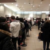 Photo taken at H&M by Riyeon K. on 11/17/2012