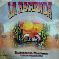 Photo taken at La Hacienda by Jim T. on 5/11/2013