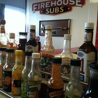 Photo taken at Firehouse Subs by Tonya A. on 4/2/2013