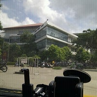Photo taken at Library by ธรรศ ธ. on 9/16/2012