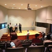 Photo taken at Auditorio Milton Friedman UFM by Cris on 5/8/2013