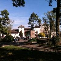 Photo taken at Plaza Gertrudis Bocanegra by Dumas P. on 12/29/2012