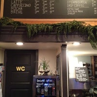 Photo taken at Anchored Ship Coffee Bar by Elliot C. on 12/31/2012
