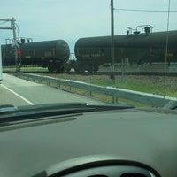 Photo taken at New Paog Road Railroad Tracks by Java D. on 5/21/2013