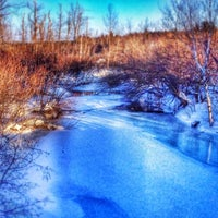 Photo taken at Arsenault's Pond by Chrissy A. on 2/15/2015