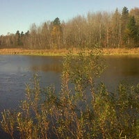 Photo taken at Arsenault's Pond by Chrissy A. on 10/27/2012